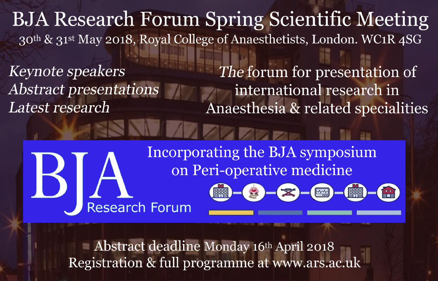 BJA Research Forum 2018